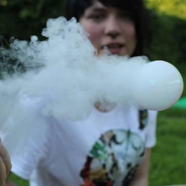 How To Blow Smoke Bubbles