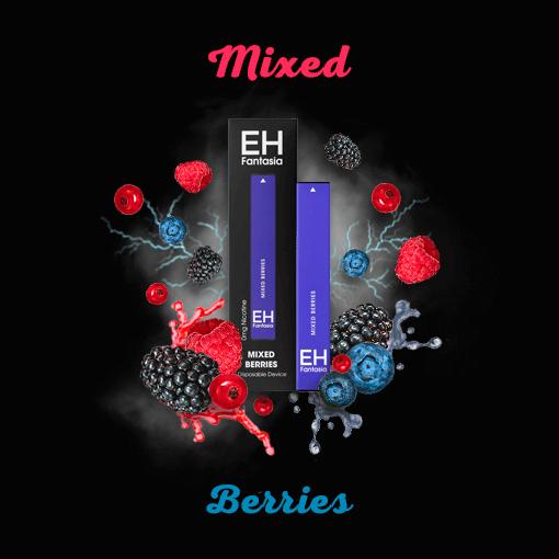 mixed berries hookah pen